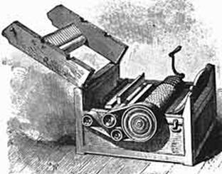 cotton machine inventor